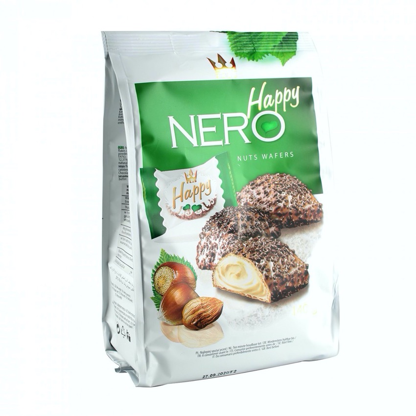 Happy Nero Nut wafers