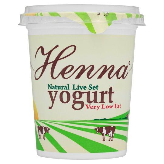 Henna Yogurt Very Low Fat