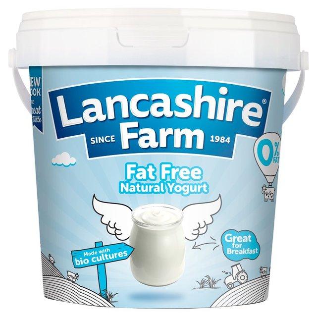 Lancashire Farm Fat Free Natural Yogurt