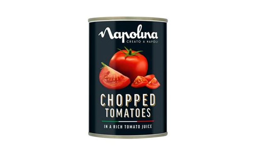 Napolina chopped tomatoes