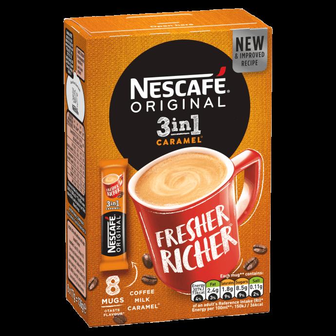 Nescafé 3 in 1 caramel