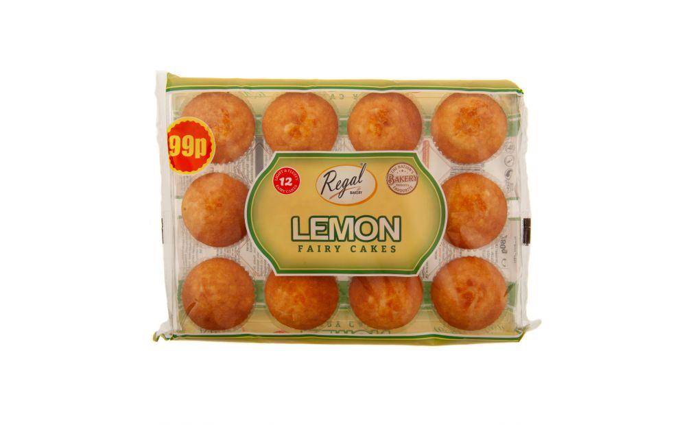 Regal Lemon Fairy Cakes