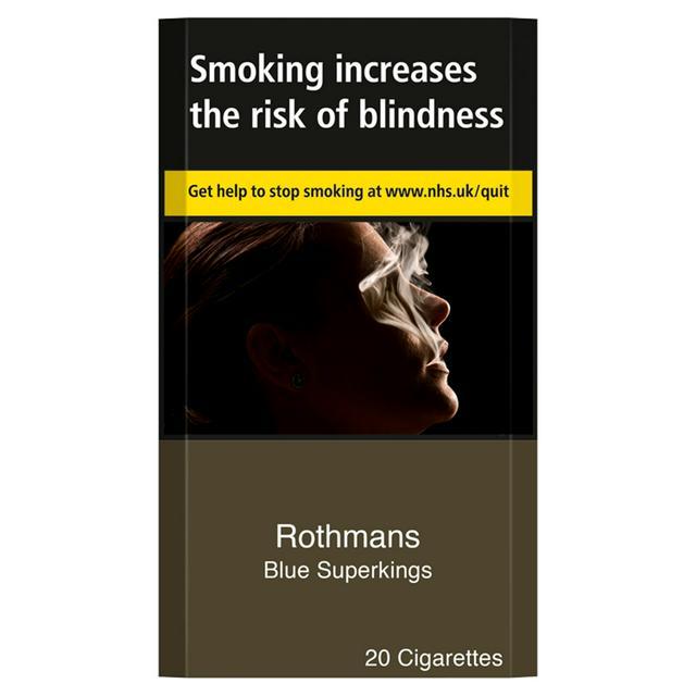 Rothmans Blue Superking