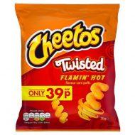 Cheetos Twisted Flamin Hot