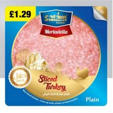 Salam Food Sliced Turkey Plain