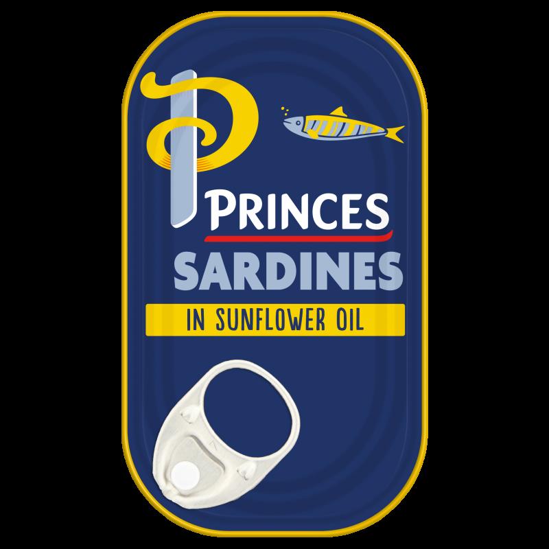 Princes Sardines In Sunflower Oil