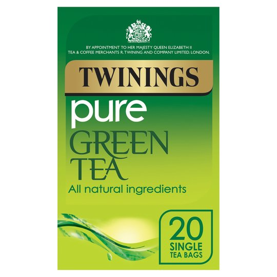 Twinnings pure green tea