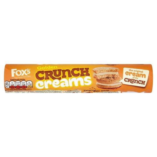 Fox's golden crunch creams