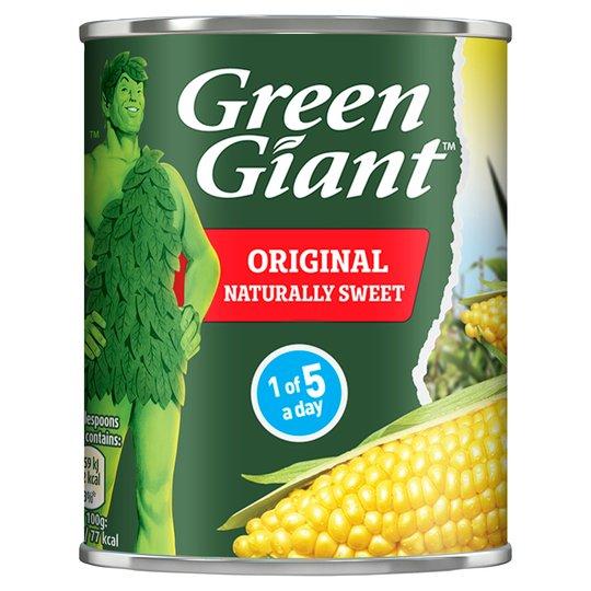 Greengiant original sweetcorn