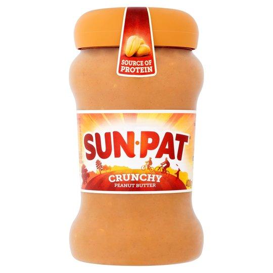 Sunpat peanut butter crunchy