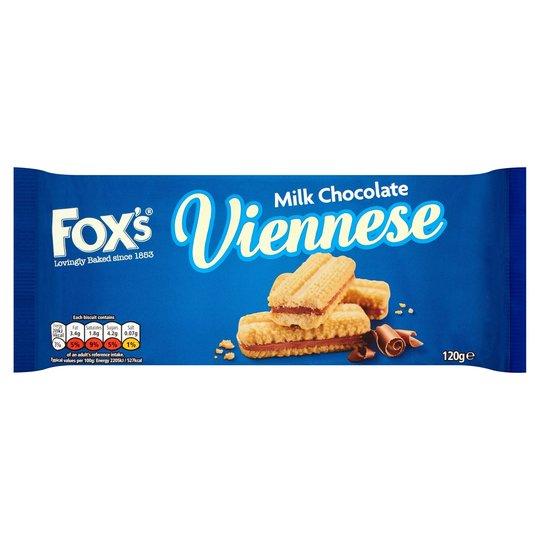 Fox's vinnese milk chocolate