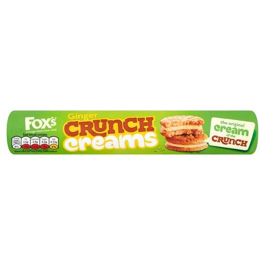 Fox's ginger crunch creams
