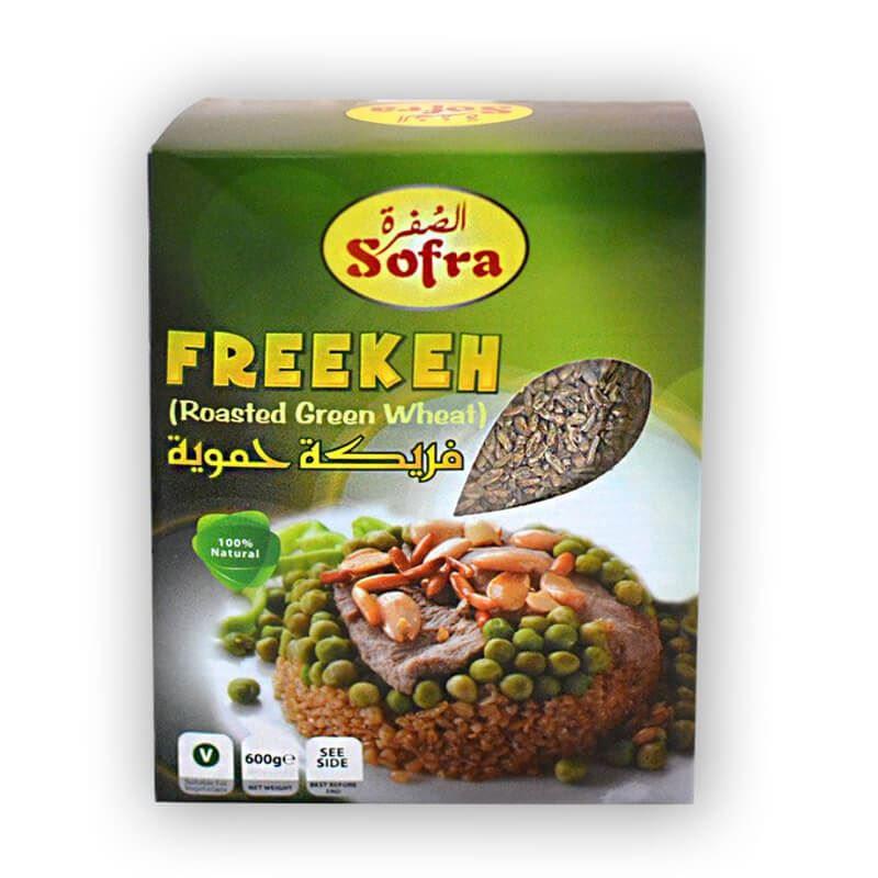 Sofra freekeh roasted green wheat