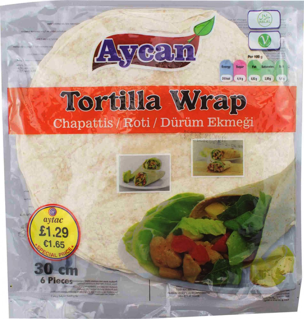 Aycan Tortilla Wrap