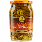 Melis pickled jalapeños peppers
