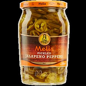 Melis pickled jalapeños peppers