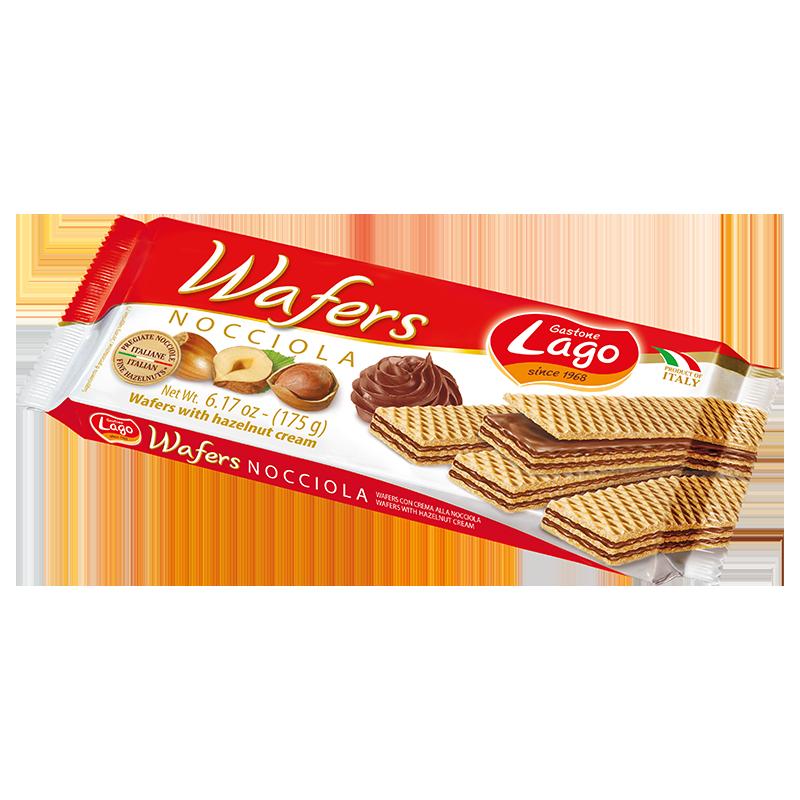 Gastone Lago wafer with hazelnut cream