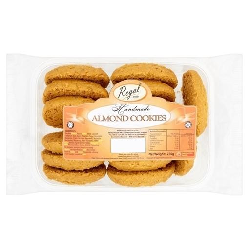 Regal Almond Handmade Cookies