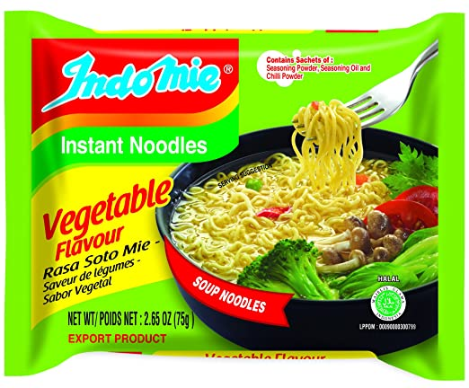 Indomie Vegetable flavour