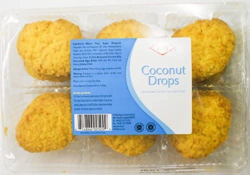 KCB Coconut Drops Biscuits