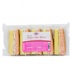 KCB Angel Cake Slices with creamed filling