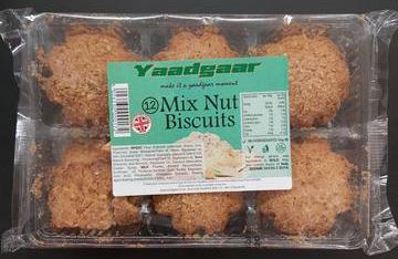 Yaadgaar Mixed Nut Biscuits