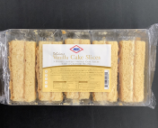 KCB Vanilla Cake Slices with a Creamed filling