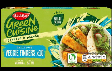 Birdseye Veggie Fingers