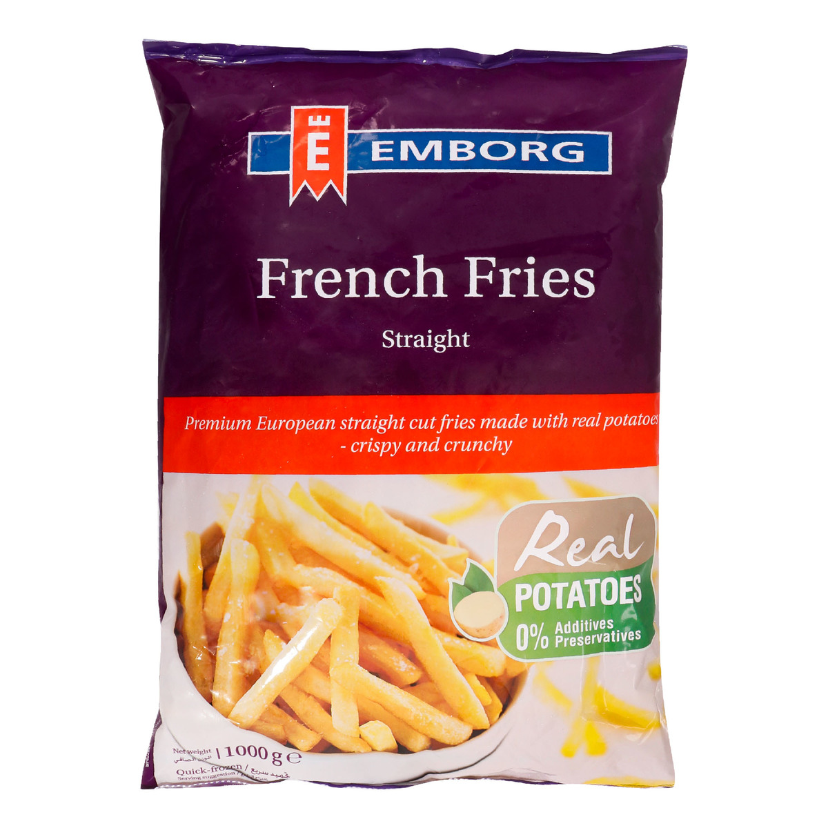 Emborg french Fries Straight