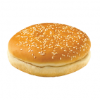 Burger Buns Sliced with sesame seeds