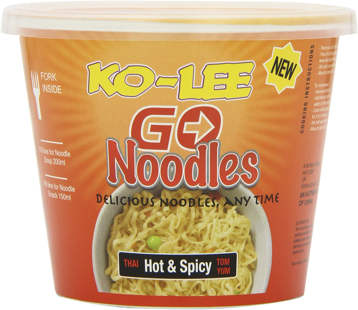 Ko-Lee Noodles Hot & Spicy