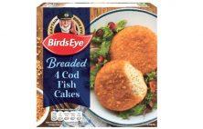 Birdseye Breaded Cod Fish Cakes