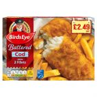 Birdseye Battered Cod
