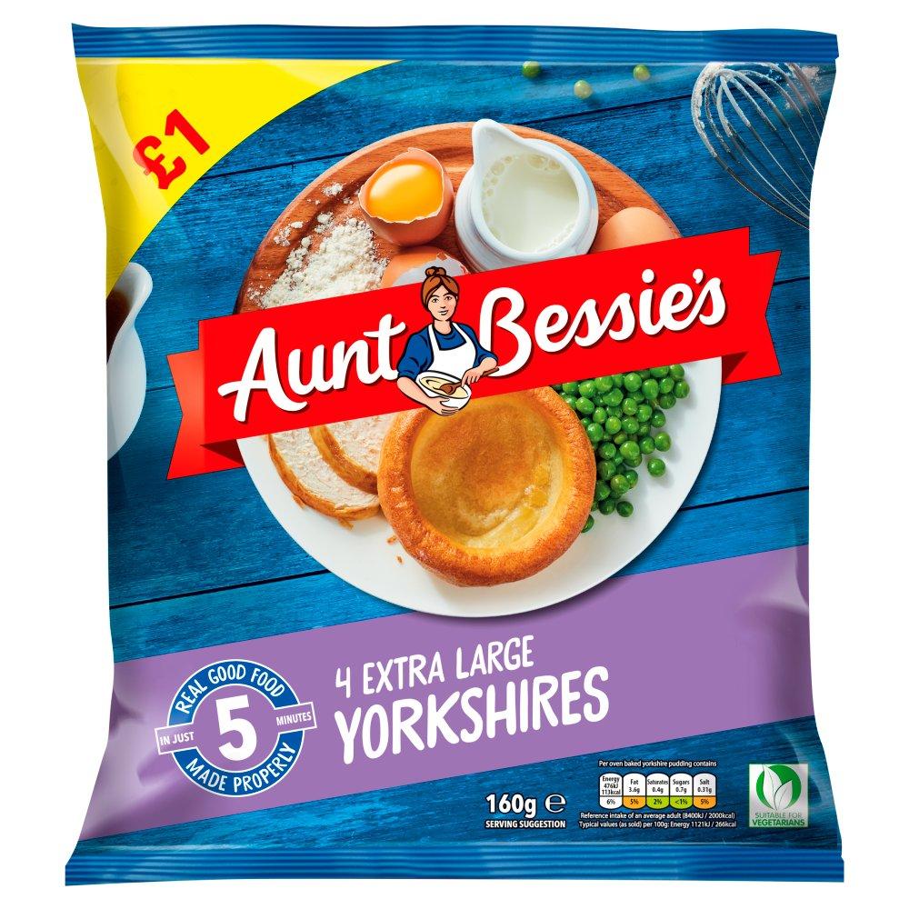 Aunt Bessies Torkshires