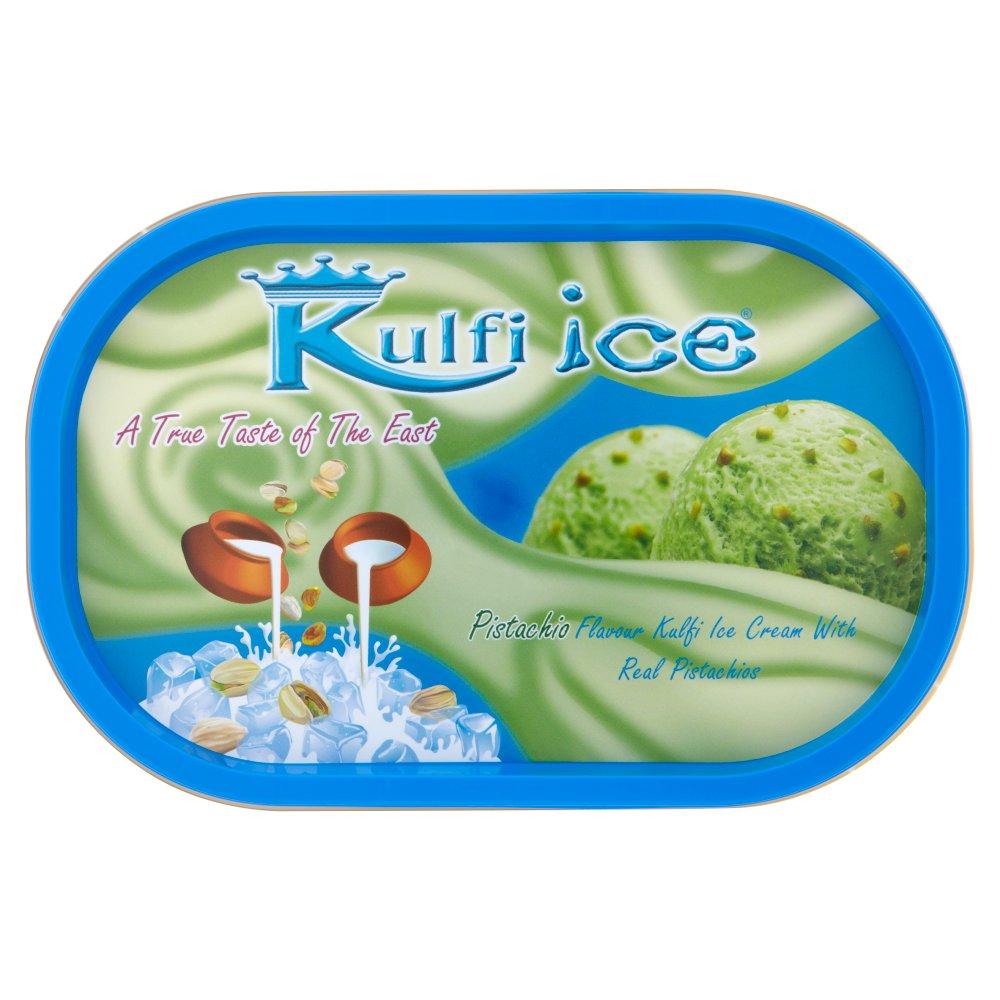 Kulfi Ice, Pistachio Flavour with pistachios