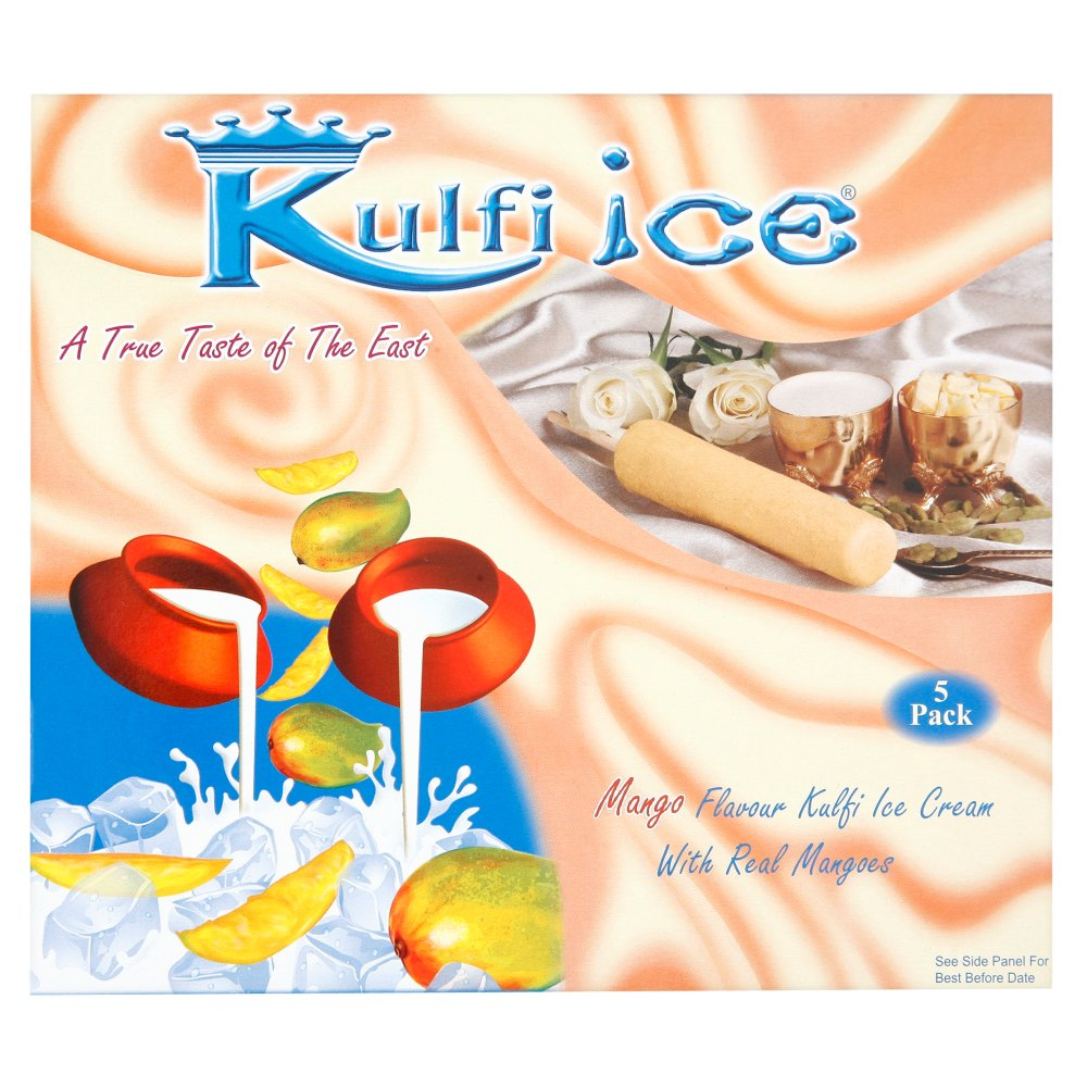 Kulfi Ice 5 pack Mango