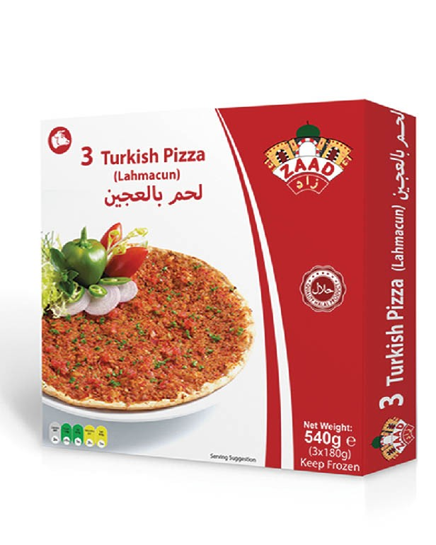 Zaad Turkish Pizza (Lahmacun)