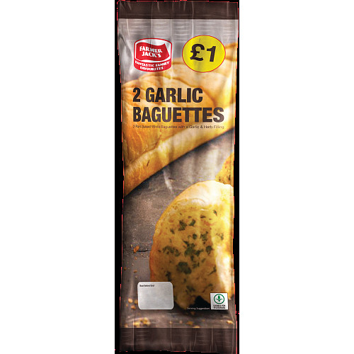 Farmers Jack Garlic Baguettes