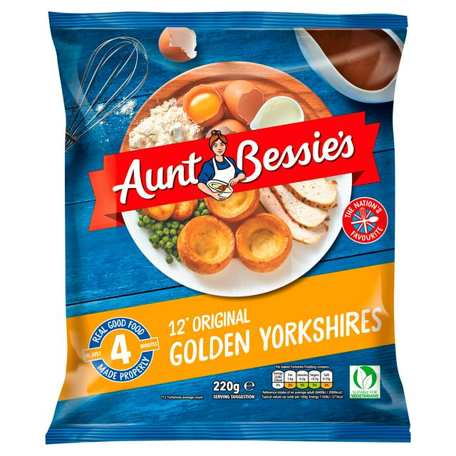 Aunt Bessies Golden Yorkshires Puddings