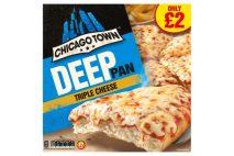 Chicago Town Deep Pan Triple Cheese Pizza