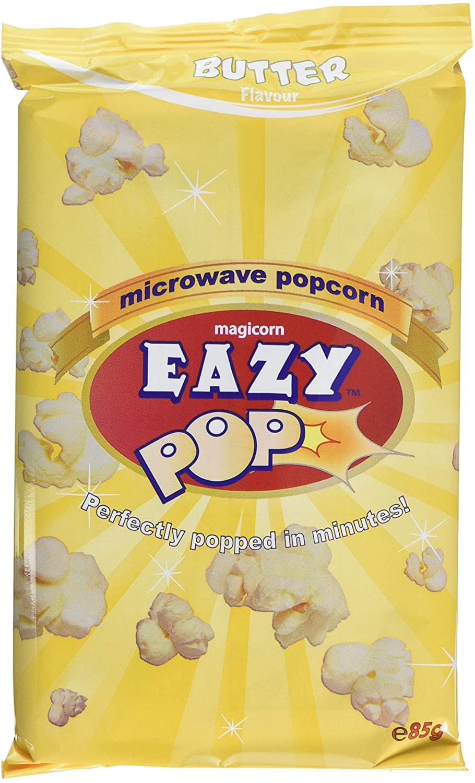 Easy Popcorn Butter Microwave Pop