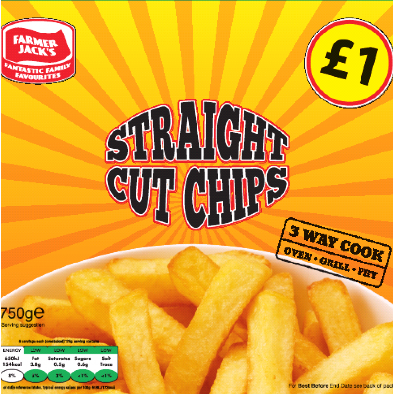 Farmers Jack Straight Cut Chips
