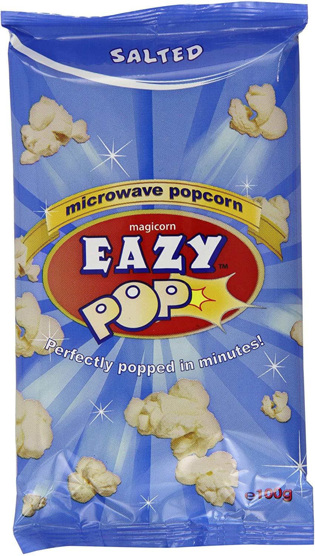 Easy Popcorn Salted Microwave Pop