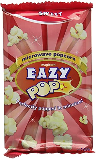Easy Popcorn Sweet Microwave Pop