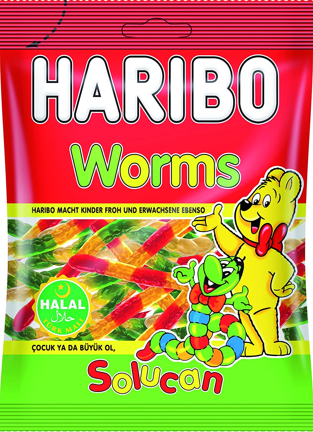 Haribo Worms (Halal)