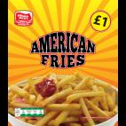 Farmers Jacks American fries