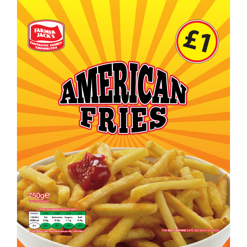 Farmers Jacks American fries