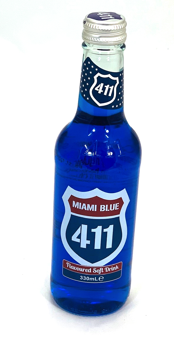 411 Miami Blue Soft Drink