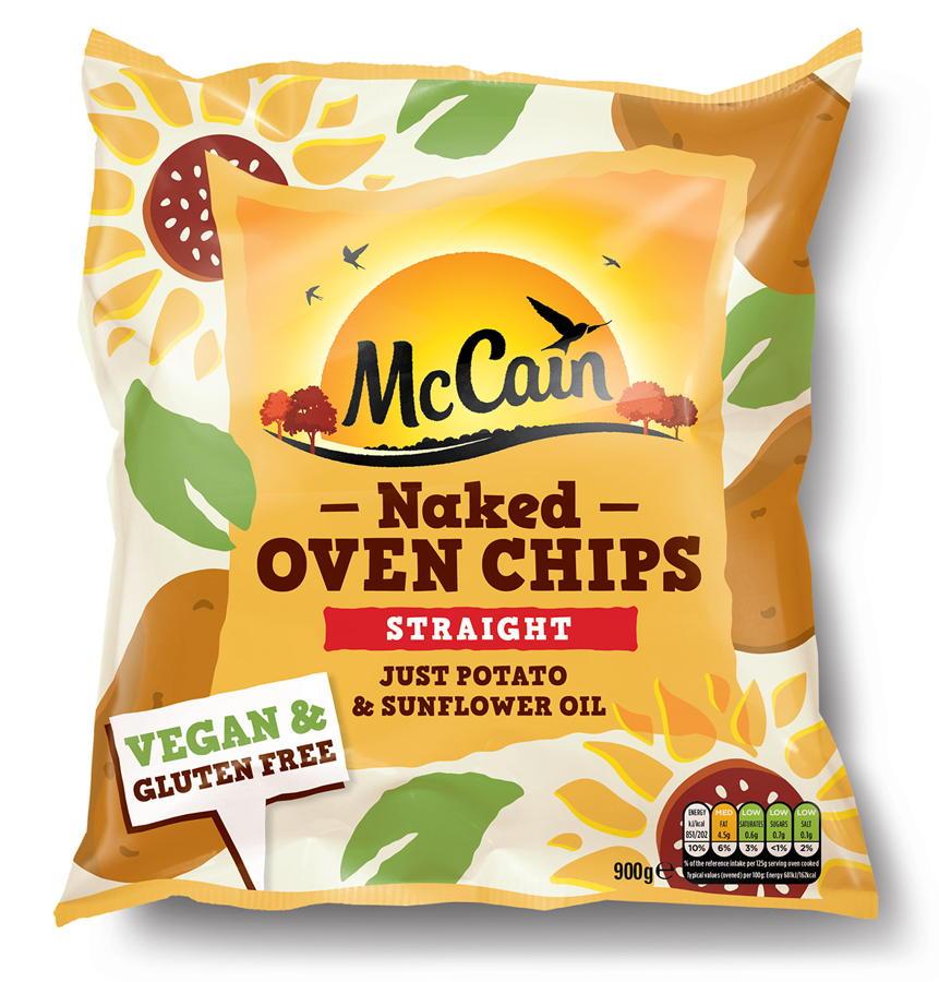 McCain Naked Oven Chips