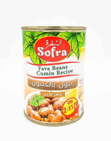 Sofra fava beans Cumin recipe
